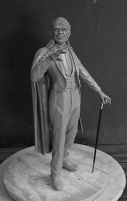 """Monster  Mr. Hyde 1/4 Scale Resin Kit 19"""" Tall W/base (Yagher Sculpt)"""