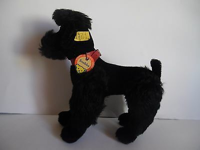 Black  Snobby all Id`s  in very good condition     STEIFF  vintage old