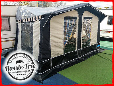 50 Kampa Carnival Caravan Awning 800-825 Size 7 Excellent Condition Used Once