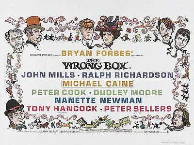 "The Wrong Box 16"" x 12"" Reproduction Movie Poster Photograph"