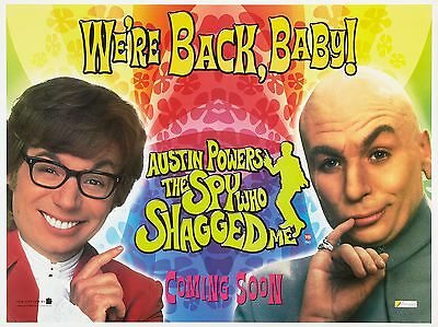 "Austin Powers the Spy Shagged 16"" x 12"" Reproduction Movie Poster Photograph 3"
