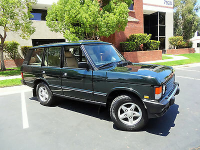 1995 Land Rover Range Rover County Classic Sport Utility 4-Door pecial Edition, One of a kind, Collectors Dream, Low Miles