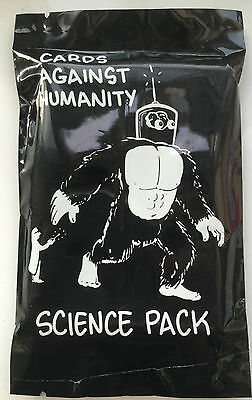 SCIENCE PACK CARDS AGAINST HUMANITY PACK PARTY GAME uk seller nigg bv