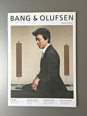 Bang & Olufsen Magazine, issue #1, 2013, Li Yundi, other brochures