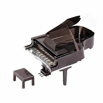 Full Colour Grand Piano Metal Model kit 3D Laser Cut Puzzle