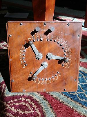 antique electrical Resistance Box circa 1880's, A.P Gage
