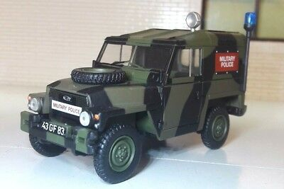 1:43 Scale Model Land Rover Series 2a 3 Lightweight British Army Military Police