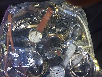 Lot Of Working/Non working Watches  5 Lbs. Parts And Repair