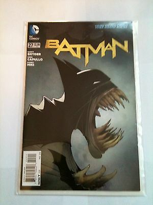 Batman #27 1St Print Nm 9.4 Dc Comics New 52 2014