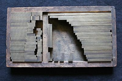 Brass-Copper-Bookbinding-Tool-Stamp-Die-Emboss-Gild-Gold-Vertical Line-96 Pieces