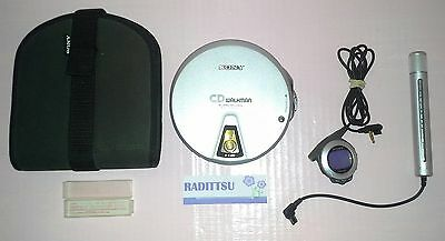 Baladeur Cd Player Disc Slide Load Sony Walkman D-Ej01 D Ej01 Dej01 Teste Ok