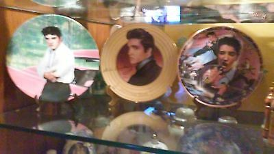 Elvis Presley Collectiable Plates
