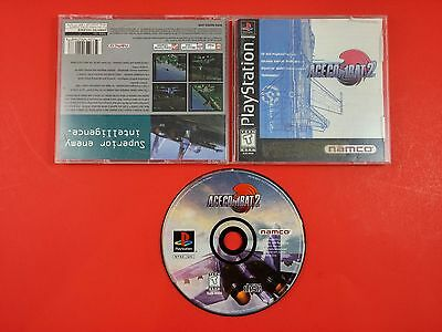 Ace Combat 2 [CIB Complete in Box] (Sony Playstation 1 PS1) Tested & Working