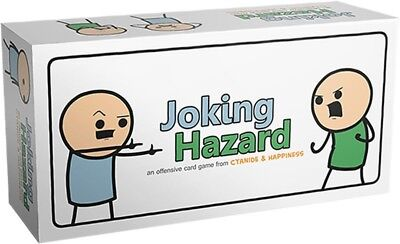 Joking Hazard Kickstarter Card Game Cyanide and Happiness Box Edition Party