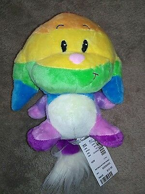 Neopets Plush Toy Rainbow Kacheek New with Tags