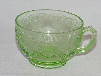 "PERFECT Vintage Green ""FLORENTINE NO. 1"" Cup Only - 5 Available!!"