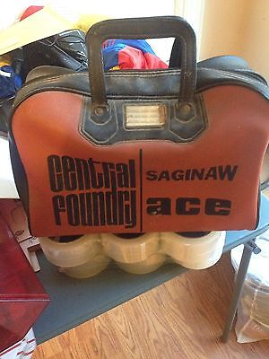Central Foundry Saginaw Ace Bag! Rare And Unusual! Free Shipping!
