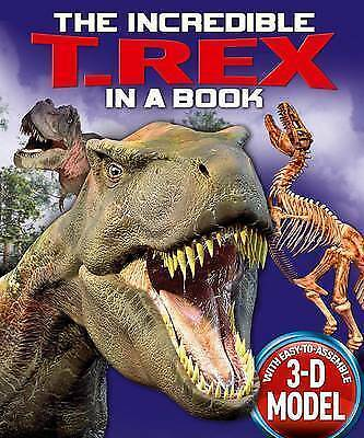 The Incredible T. Rex in a Book (Incredible in a Book), Claire Hawcock, New Book