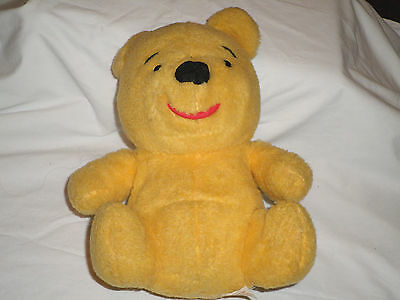 Old Winnie the Pooh Plush Sears Tags Walt Disney Productions