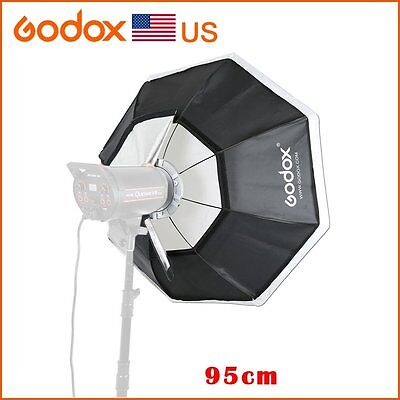 "Godox Softbox 37"" 95cm Bowens Mount for Studio Strobe Camera Flash Monolight"