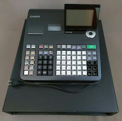 Casio PCR-T2300 Electronic Cash Register Preowned As Is