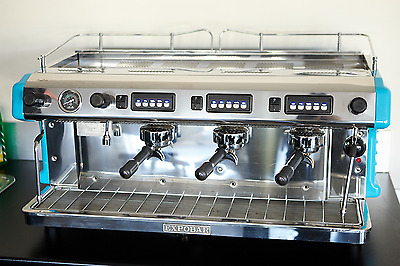 Expobar Ruggero Espresso Coffee Machine 3 group BLUE