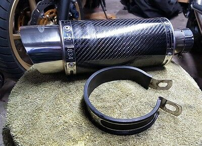 delkevic end can , slip on exhaust