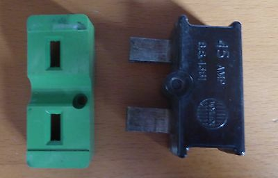 Wylex C45 - 45 Amp BS1361 Cartridge Fuse, Holder and Base