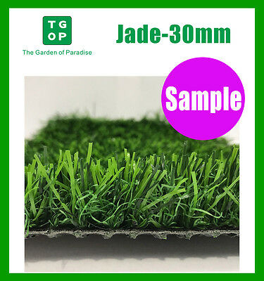 Sample ONLY!!!  Jade 30mm 3 Tone Synthetic Turf  Artificial grass Fake grass