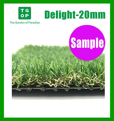 Sample ONLY!!!  Delight 20mm 4 Tone Synthetic Turf Artificial grass Fake grass