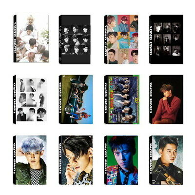 Lot of & Fashion KPOP EXO Personal Collective Poster Photo card Lomo Card