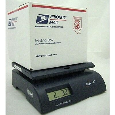 Digital Weight Postal Shipping Scale Letter Package Mail Box Post Office 75 lbs