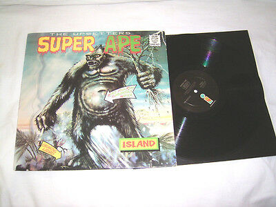 LP - The Upsetters Super Ape - US 1976 # cleaned