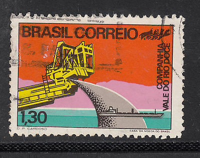 BRAZIL 1972 1cr 30 Iron ore  Very Fine Used