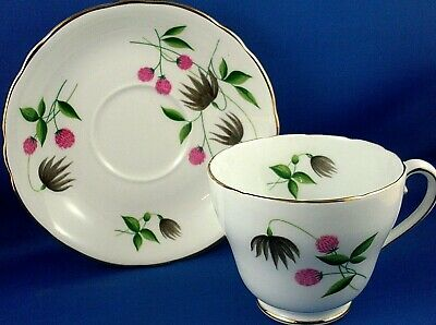 Vintage ROYAL ADDERLEY England Bone China Cup & Saucer VG Collectable - In Aust