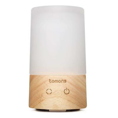 Tomons 100ml Essential Oil Humidifier Air Aromatherapy Diffuser with 6 LED