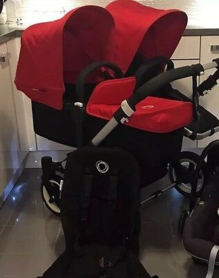 Bugaboo Donkey Duo V1.1 Newest Version Red