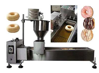 2500W Commercial Automatic Donut Maker Making Machine Stainless Steel 110V US CA
