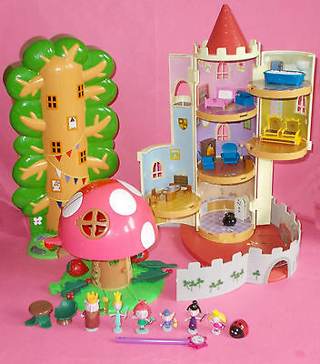 Ben And Hollys Magical Little Kingdom King & Queen Castle Elf House Toadstool