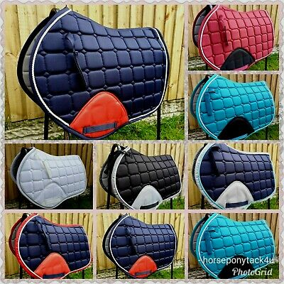 jumping cut Saddle Pad cloth numnah cob or full sizes new colours added