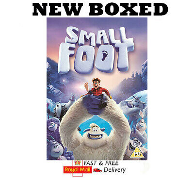 Small Foot Movie DVD New & Sealed Quick Dispatch Free Postage