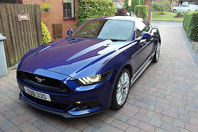 2016 Ford Mustang 2.3 Ecoboost with Premium Pack Deep Impact Blue