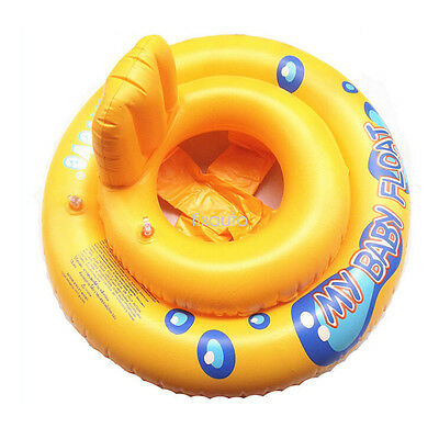 Infant Kids Toddler Swimming Seat Pool Float Ring Bath Buoyancy Aid Trainer FT19