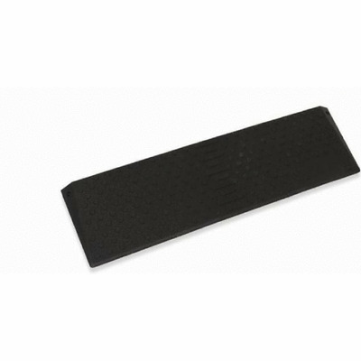 Pride - Wheelchair Rubber Threshold Ramp (25mm to 76mm Height)