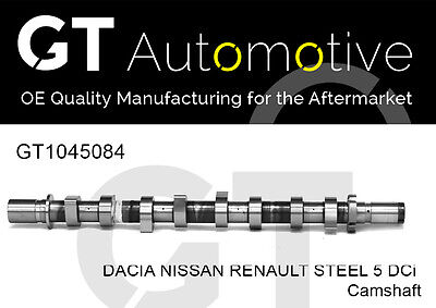 CAMSHAFT FOR DACIA NISSAN RENAULT STEEL 1.5 DCi K9K ENGINE 8200978873