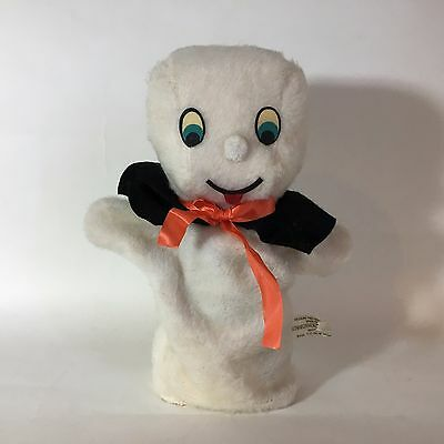 Casper The Friendly Ghost Plush Hand Puppet Commonwealth Rare Vintage