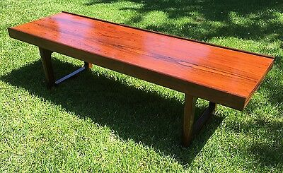 "Bruksbo ""Krobo"" Rosewood Bench Table 47.5"" Torbjørn Afdal Mellemstrands Norway"