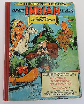 An Illustrated Library Of Great Indian Stories 1952 Rare