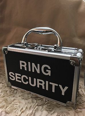 Ring Bearer, Security Case With Keyless Combination Lock For Wedding, Valuables