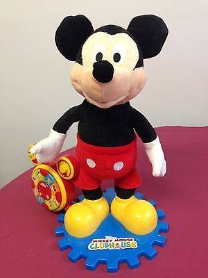 Mickey Mouse Clubhouse Moving, Singing And Storytelling Plush Toy. Disney.